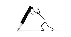 psací písmena obrázek